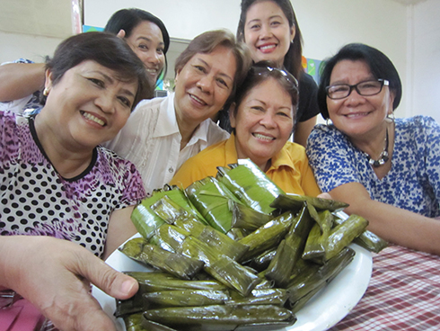 SUMAN...SUMAN elicited smiles from WMSU officials. Native delicacies, cuisine, fresh fruits and warm people spell out ESU hospitality.