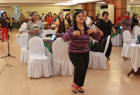 Faculty members of the College of Nursing were the partipants of the 2-day seminar-workshop.