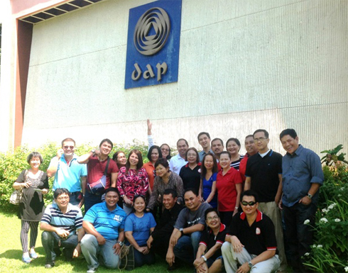 The strategic planning was held at the Development Academy of the Philippines in Tagaytay.