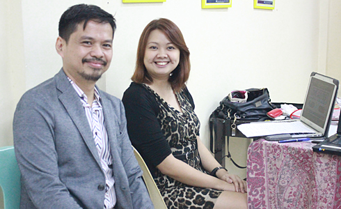 Speakers for the training were Mr. Tim Dacanay and Ms. Jean Dee from the NCCA.