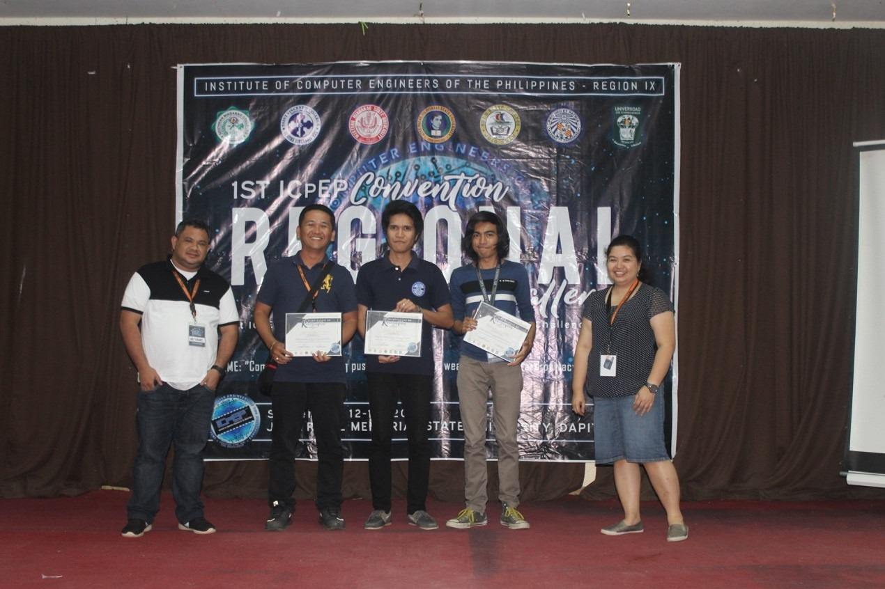 CpE students reap 1st place in ICpEP Regional Quiz Bowl